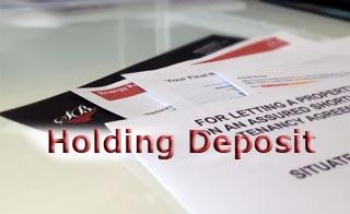 holdingdeposit